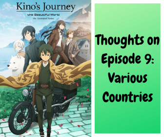 review on episode 9 of kino's journey